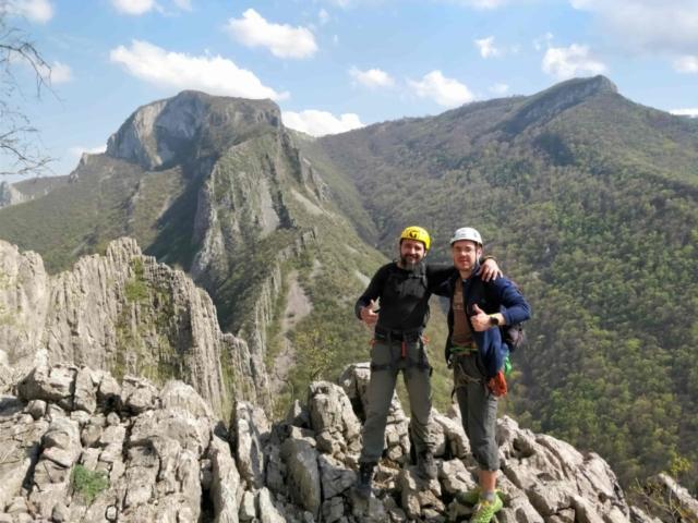 Альпинисты совершили восхождение в Болгарии