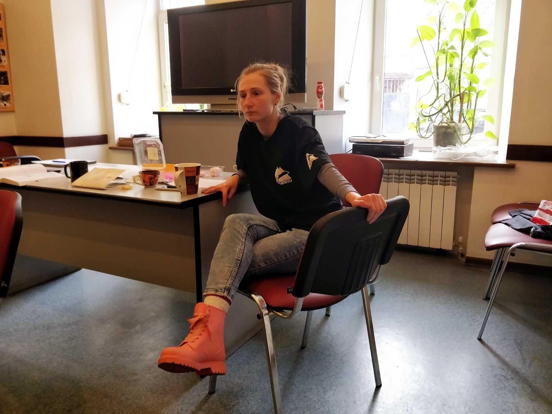 Инструктор альпинизма Надежда Гончаренко