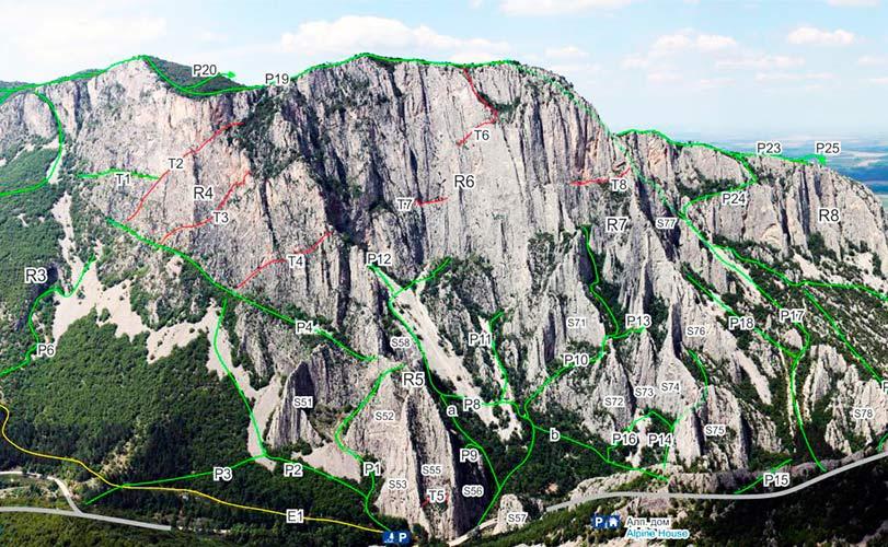 Враца альпинистский район