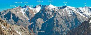 Горы Аладаглара